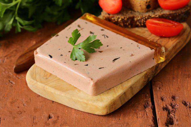 Gourmet liver pate