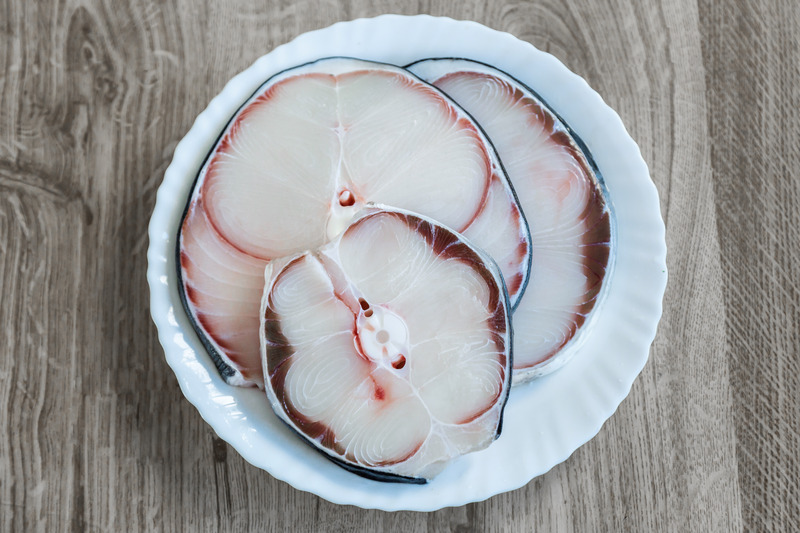 cooking of blue shark meat